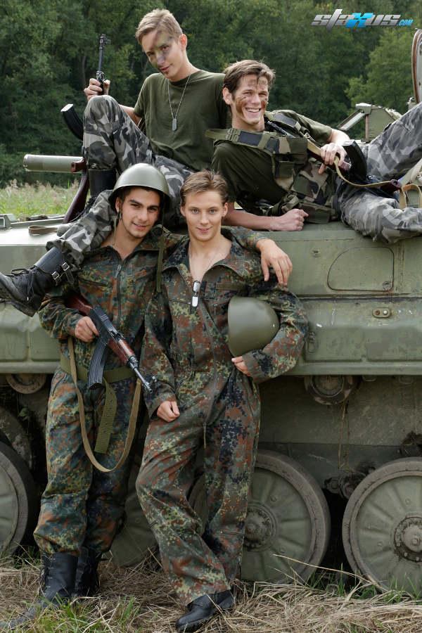 Gay militaire video homo arme gratuit et film porno